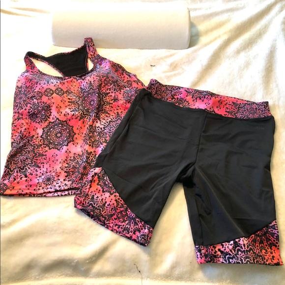 4b167024224c5 Swimsuits For All Swim | Aquabelle Racerback Tankini Too Bike Shorts ...